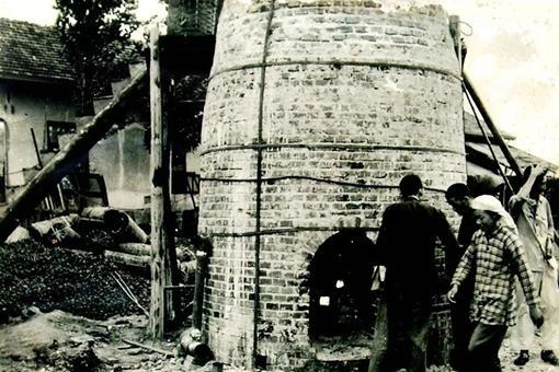 1958年全民大炼钢铁历史老照片
