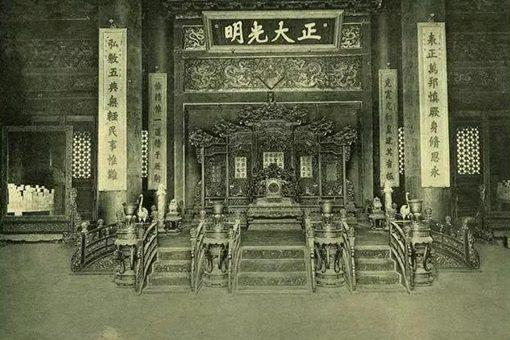 百年前的北京故宮老照片