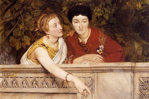 古罗马男主人买的女奴隶是什么结局