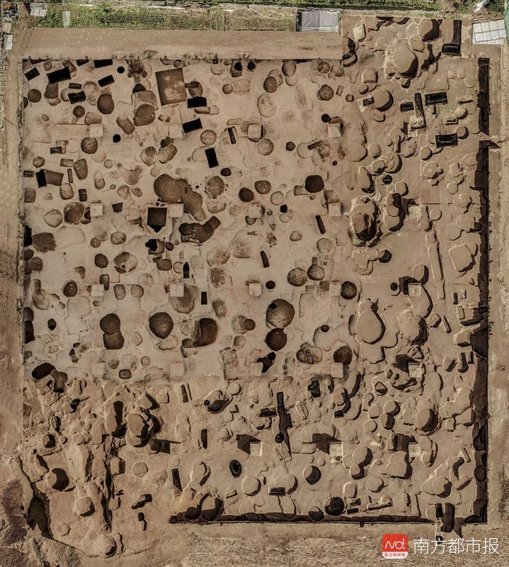 西安发掘马腾空遗址 惊现6层多朝代文物