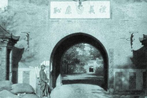日本戰地記者下的德州淪陷老照片