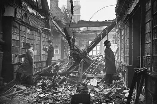 二戰期間被德國轟炸了76個晝夜的倫敦市什么樣子的?