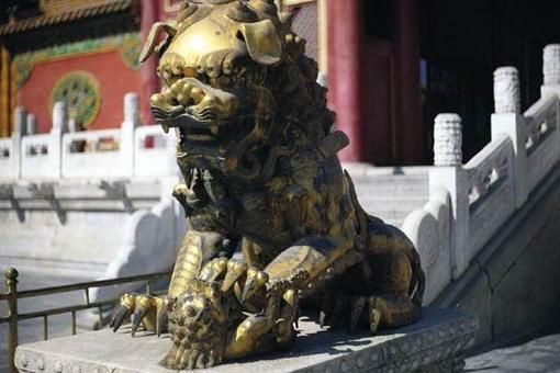 鎏金铜狮真是用金子做的吗?鎏金是什么意思?