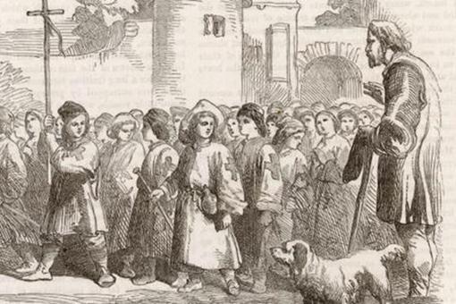兒童十字軍東征是怎么回事?3萬兒童十字軍的結局是怎樣的?